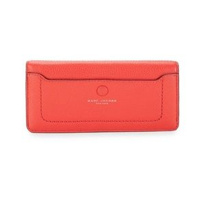 Marc Jacobs Red Leather Open Face Wallet (NWT)